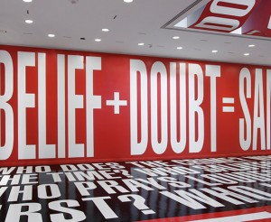 graphics-museums-BarbaraKruger-BeliefDoubtSanity