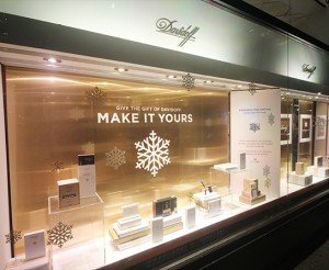 Davidoff.Retail.holiday.windows.Coloredge.2017