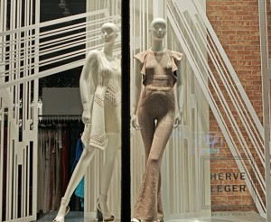 Retail-Herve-Leger-NYC-Los-Angeles-SoHo-Dimensional-Displays-Gatorboard-Windows-1